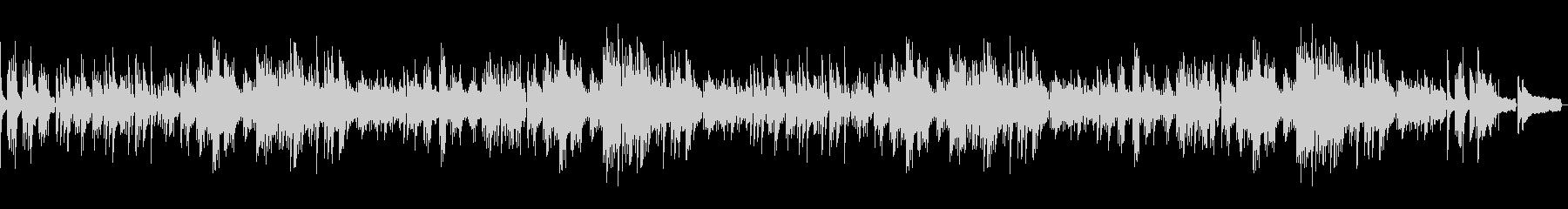 ピアノでオシャレに 別れの曲・ショパン2の未再生の波形