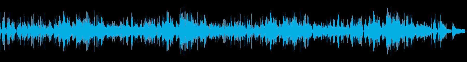 ピアノでオシャレに 別れの曲・ショパン2の再生済みの波形