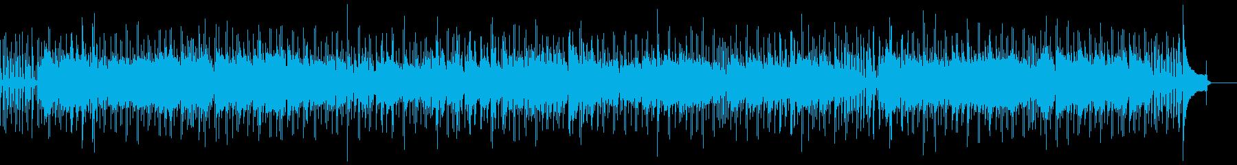 朝の情報番組オープニング風爽やか系BGMの再生済みの波形