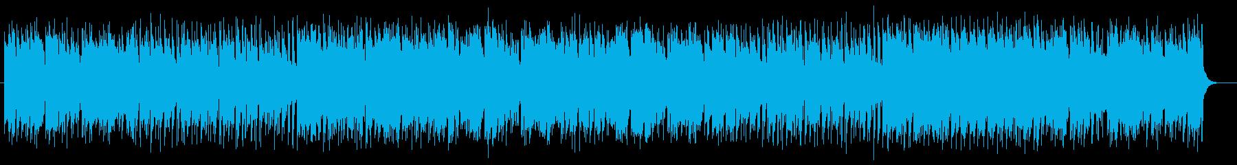 軽快でキャッチ―でメローなポップサウンドの再生済みの波形