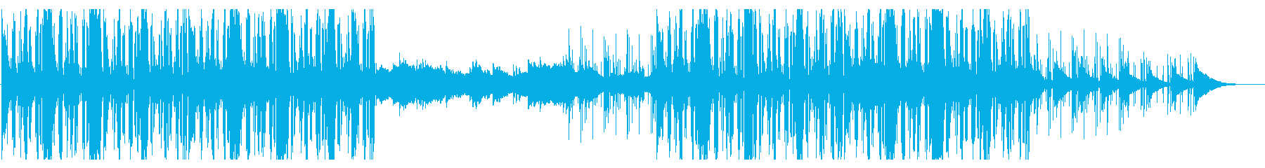 サスペンスなどのテーマ曲、メロディアス の再生済みの波形