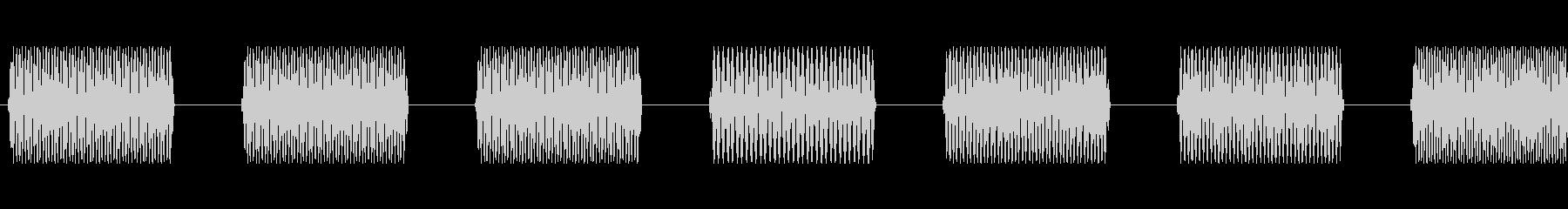 この番号2を呼び出すの未再生の波形