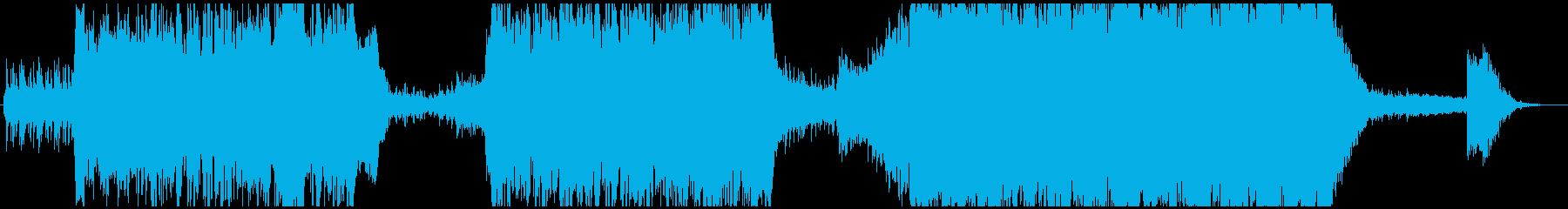 現代の交響曲 劇的な 神経質 燃え...の再生済みの波形