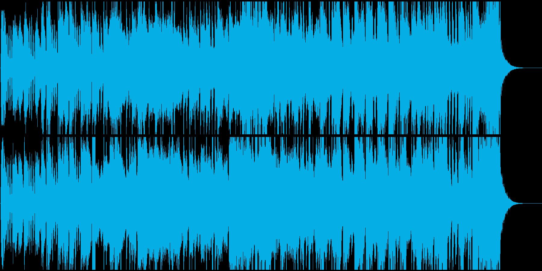 元気な祝いのファンファーレの再生済みの波形
