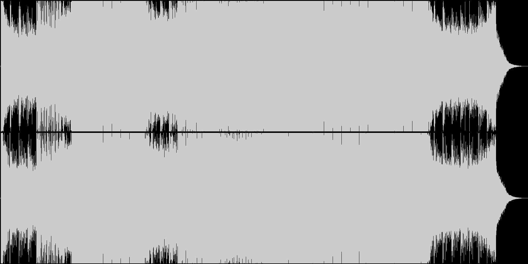アップテンポ系Future Bassの未再生の波形