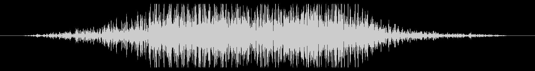 斬撃 ディープスコールヘビー02の未再生の波形