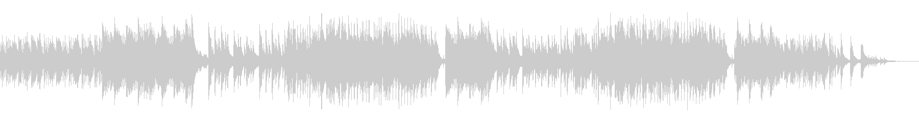 ピアノソロ ピアノバラード 4分の3拍子の未再生の波形