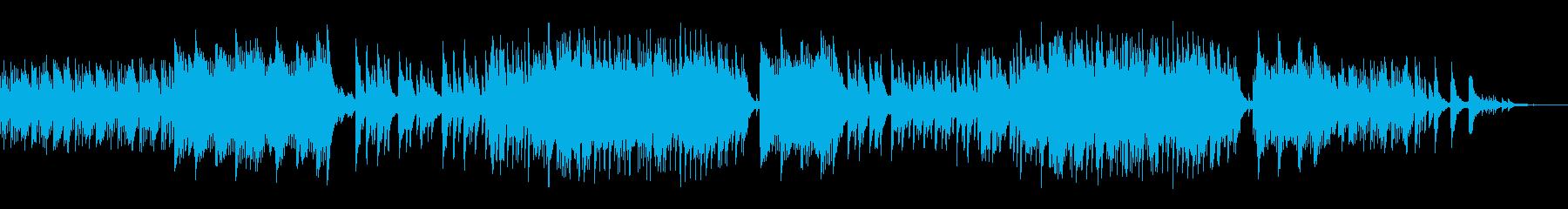 ピアノソロ ピアノバラード 4分の3拍子の再生済みの波形