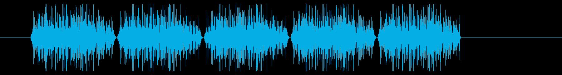 SNES レース01-09(砂)の再生済みの波形