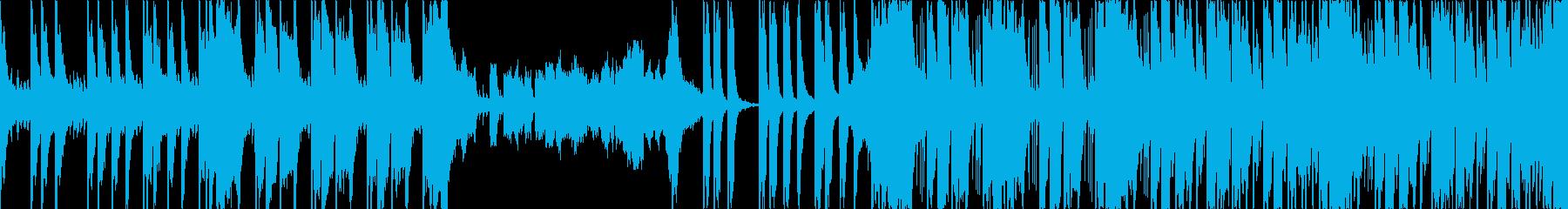 おしゃれ、ポジティブ、エレクトロ、Lの再生済みの波形