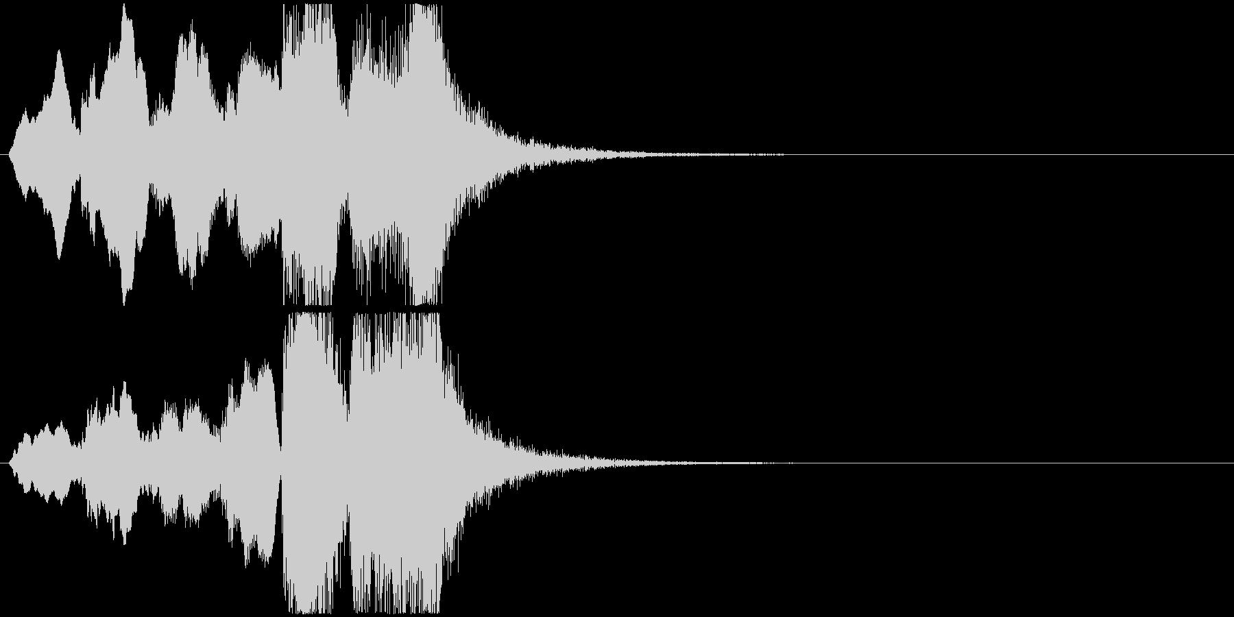 18 ホルン中心の短いファンファーレの未再生の波形