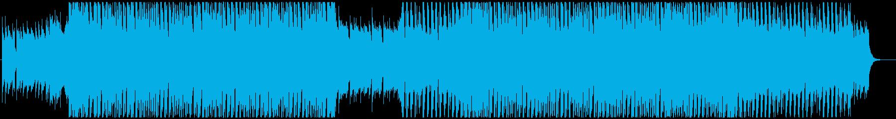 ノリの良い可愛いシンセポップの再生済みの波形