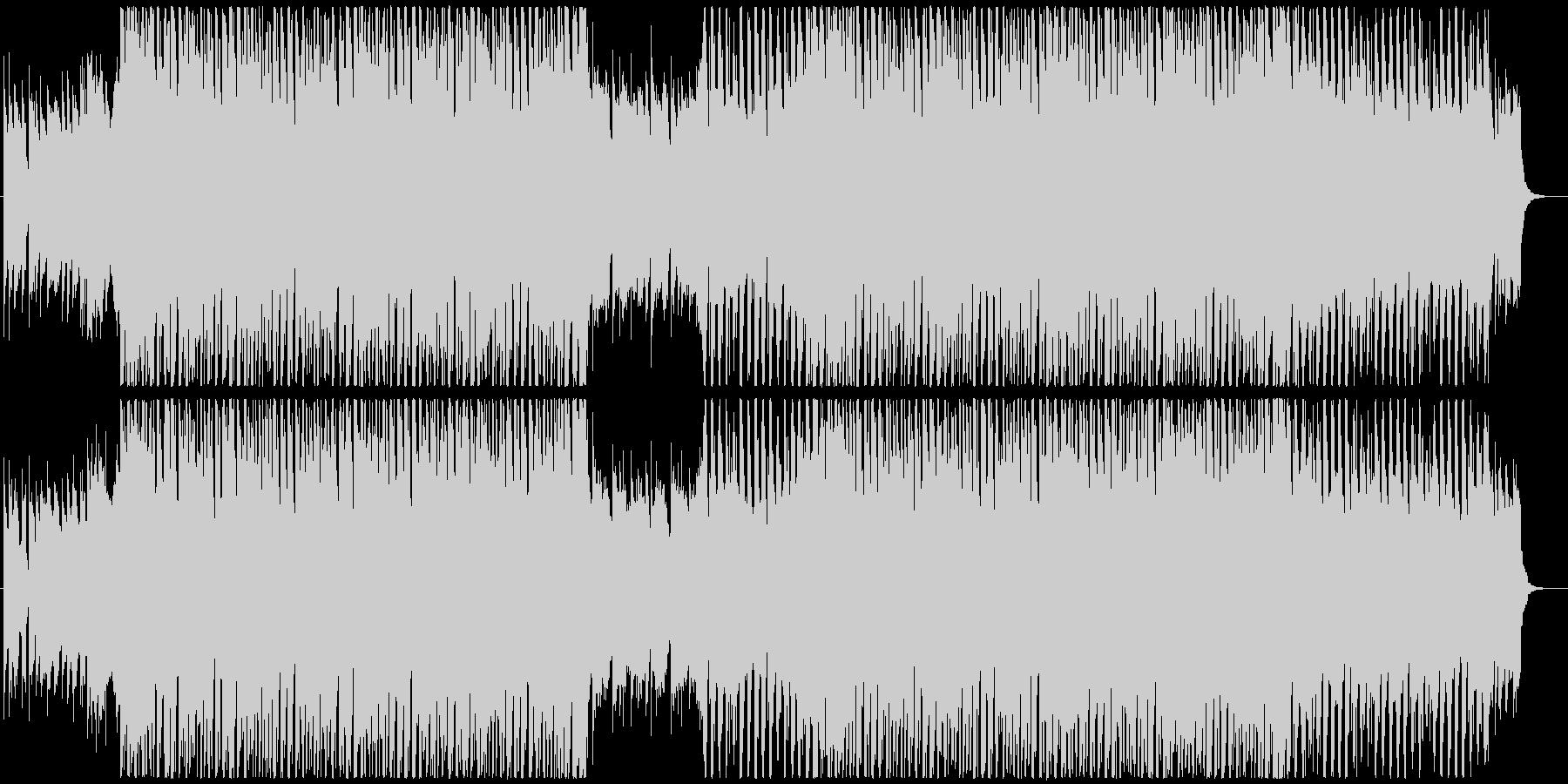ノリの良い可愛いシンセポップの未再生の波形