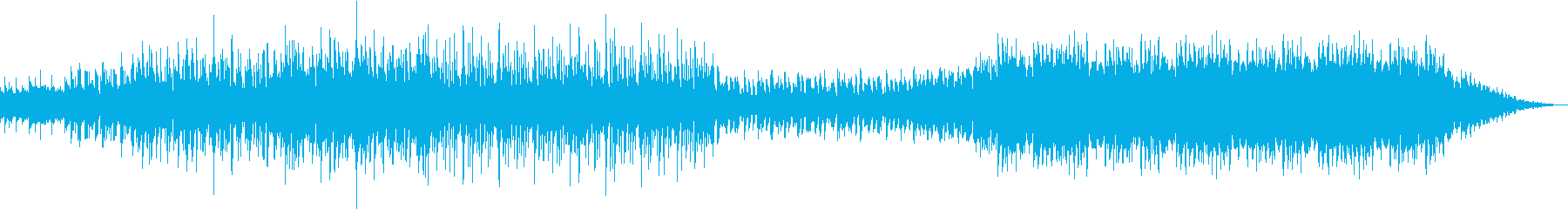 ゆっくりめのかっこいい曲ですって。の再生済みの波形