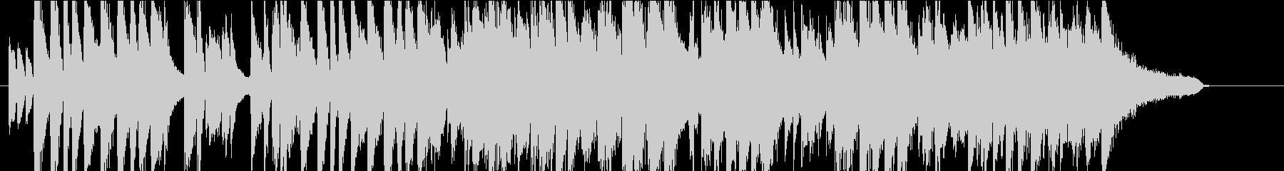 明くて軽快なジャズ・デュエットの未再生の波形