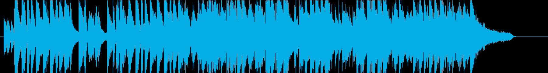 明くて軽快なジャズ・デュエットの再生済みの波形