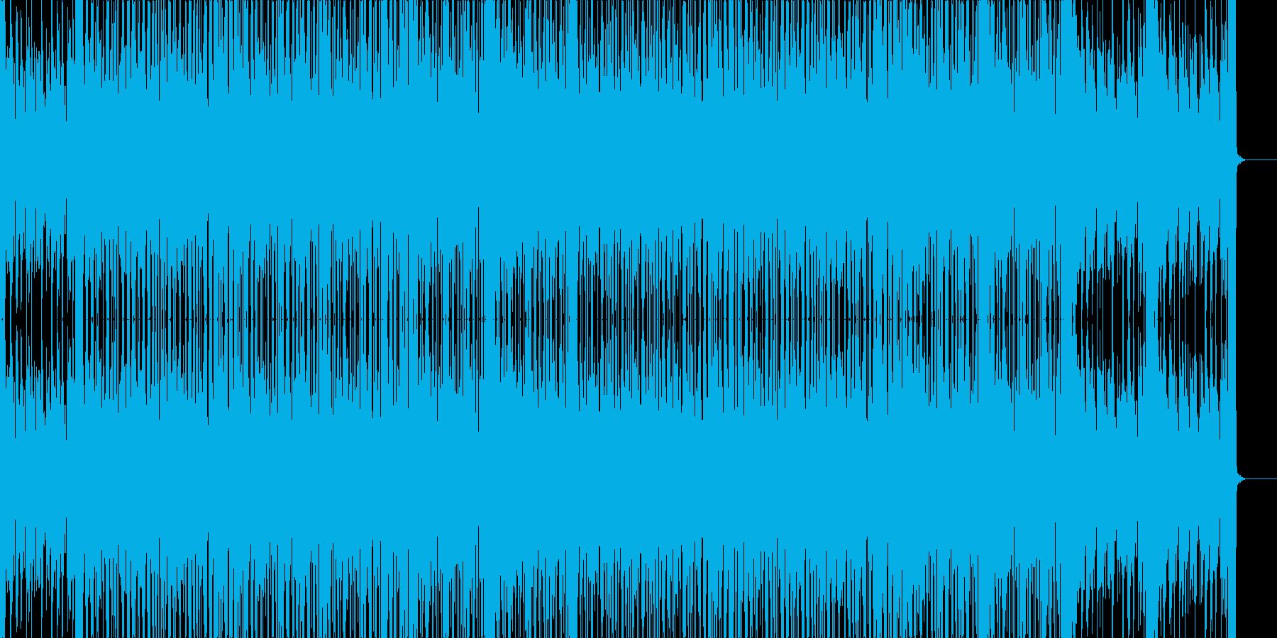 ローファイなビートの再生済みの波形