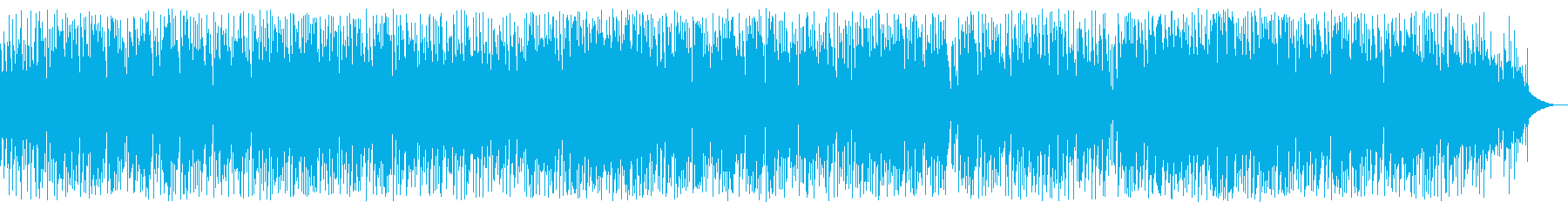 爽やかなBossa Novaの再生済みの波形