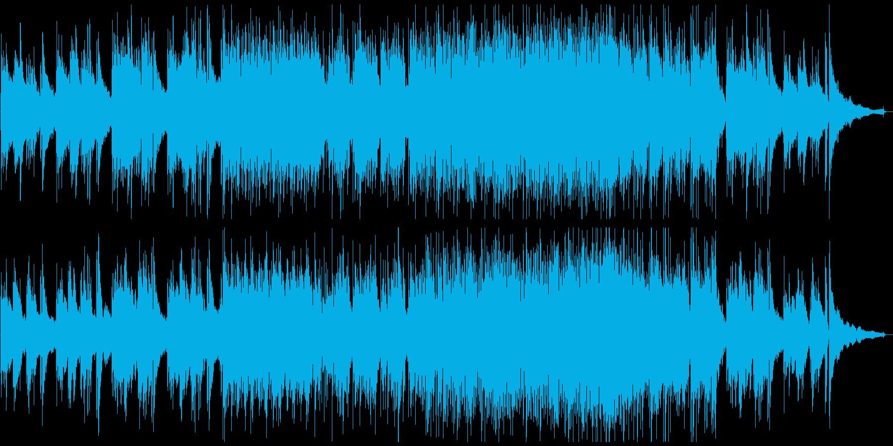 「花曇り」をイメージした幻想的にうつろうの再生済みの波形