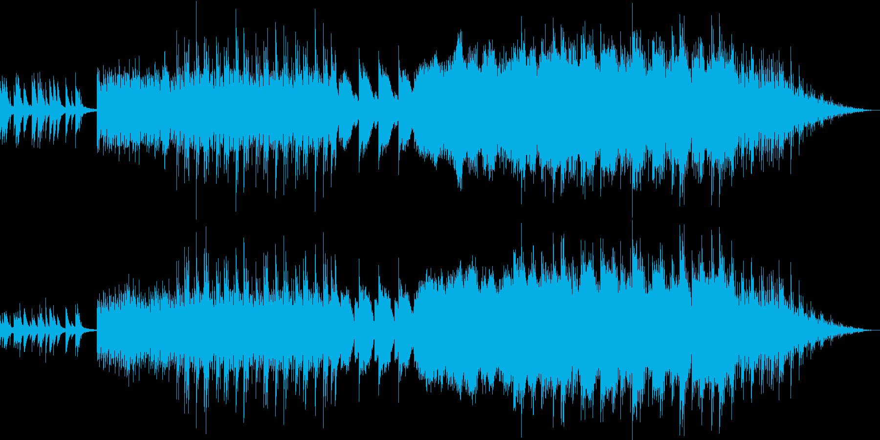 暗く絶望的な雰囲気の変拍子のサウンドの再生済みの波形