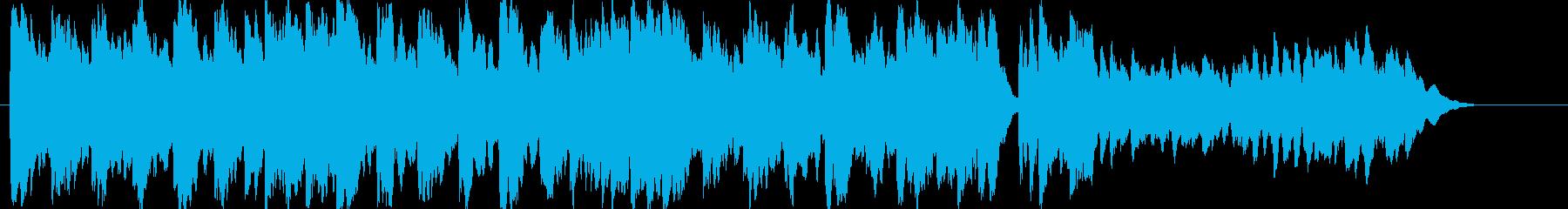 優しくて切ない癒しのオルゴールの再生済みの波形