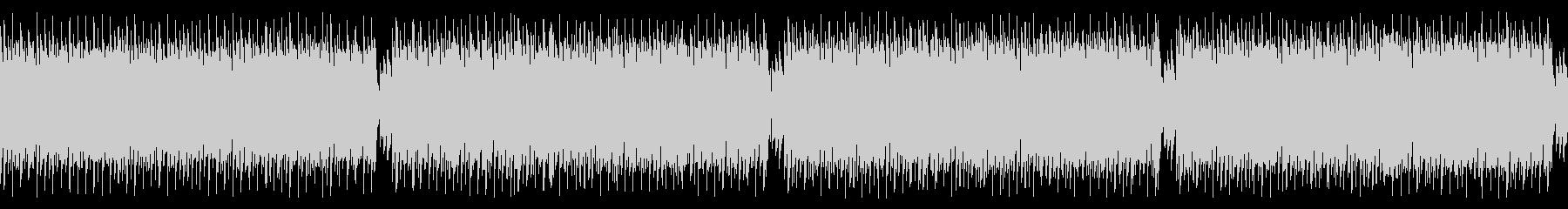 ループ仕様・キャッチーなギターロックの未再生の波形