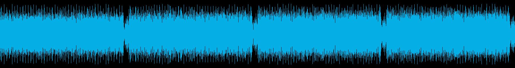 ループ仕様・キャッチーなギターロックの再生済みの波形