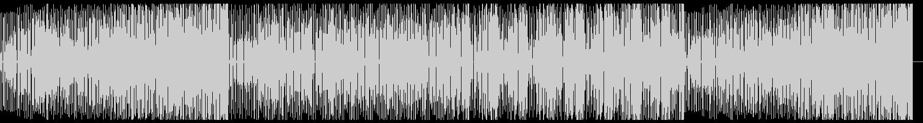 スタイリッシュなDeep Houseの未再生の波形