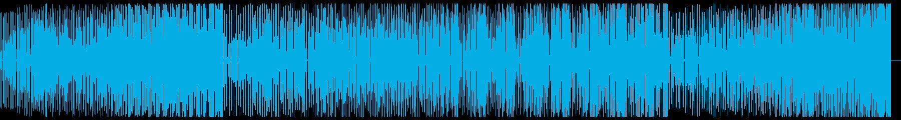 スタイリッシュなDeep Houseの再生済みの波形
