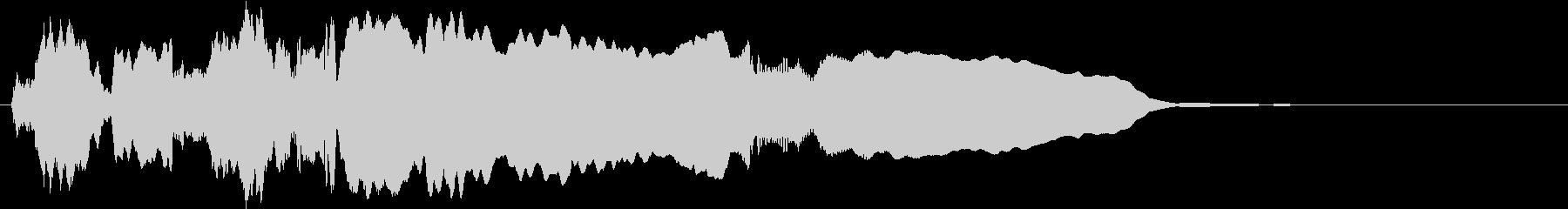 音侍SE「尺八フレーズ1」エニグマ音11の未再生の波形