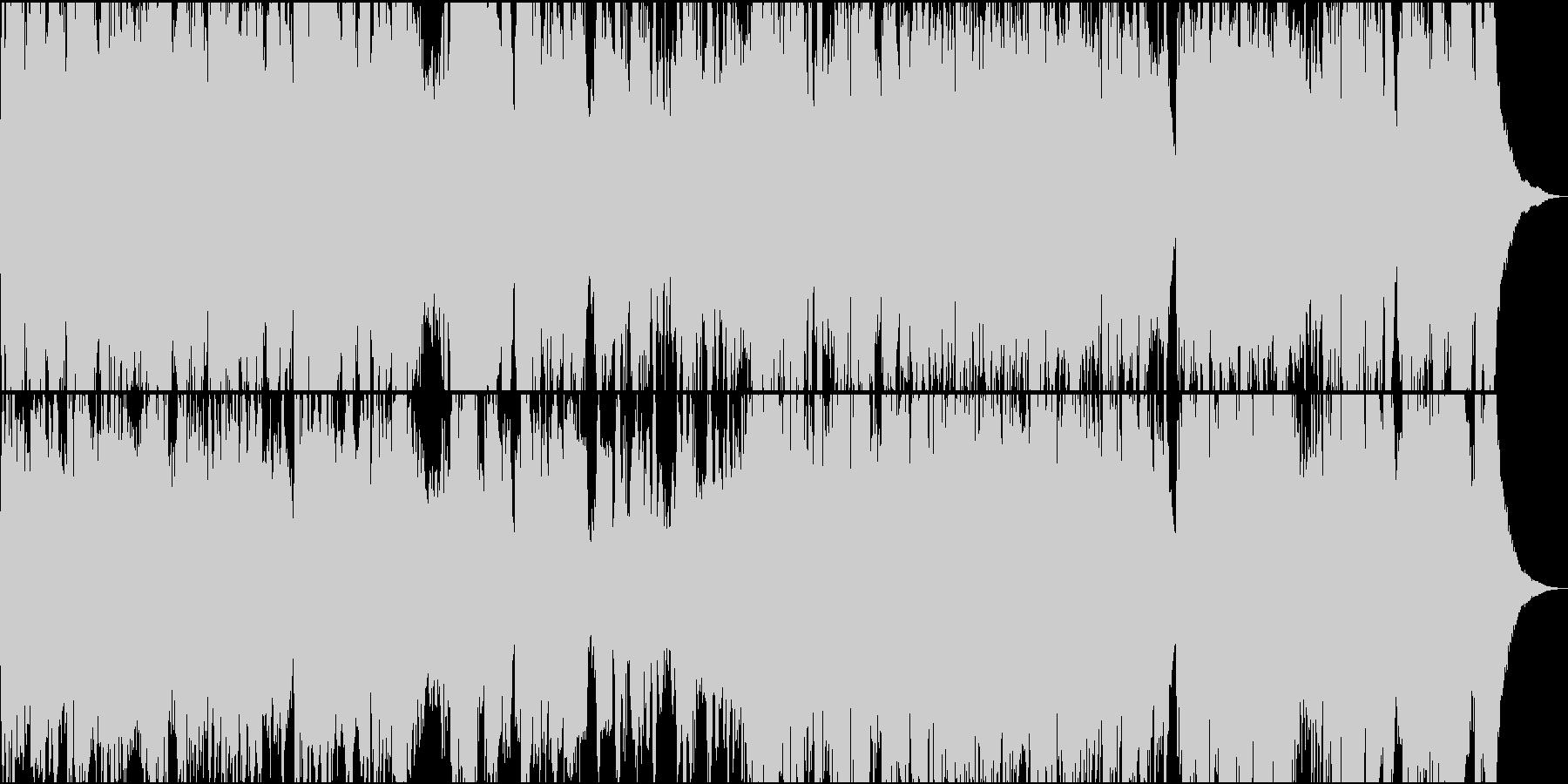 ゆったりフィドルとチェロのケルト楽曲の未再生の波形