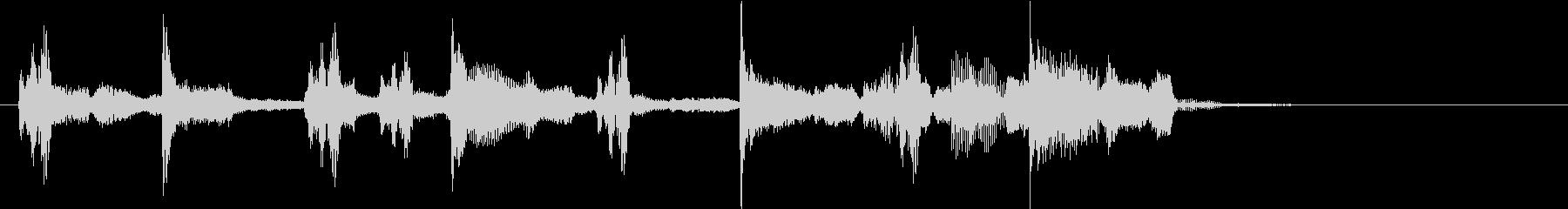 渋かわいいメロディー♪【ロゴ&ジングル】の未再生の波形
