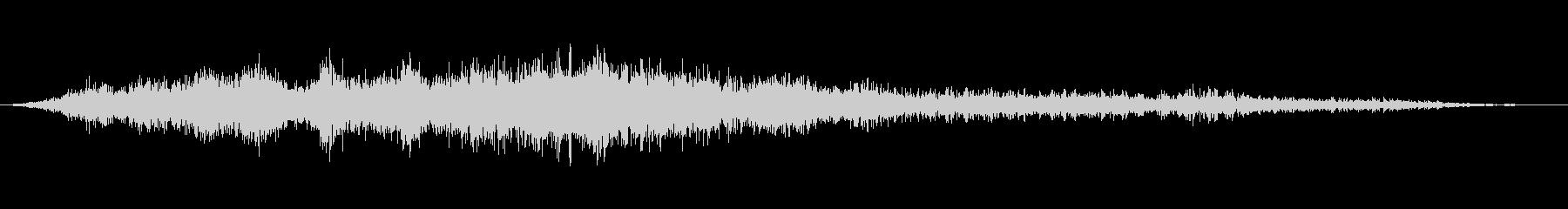 【環境音】飛行機の音01(羽田)の未再生の波形