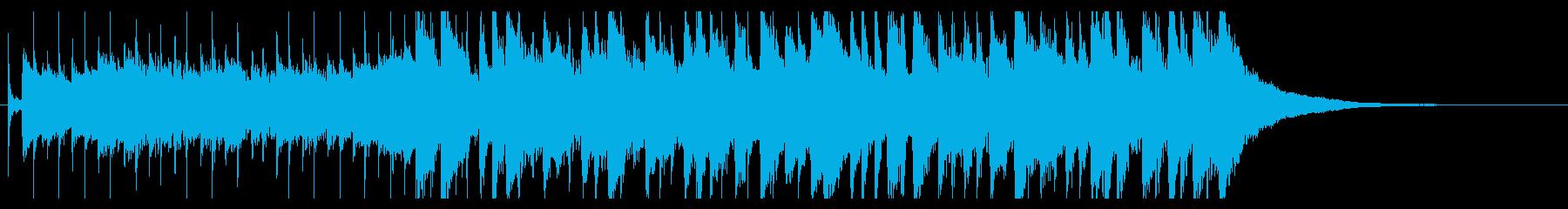 爽やかギターポップオープニングジングル の再生済みの波形