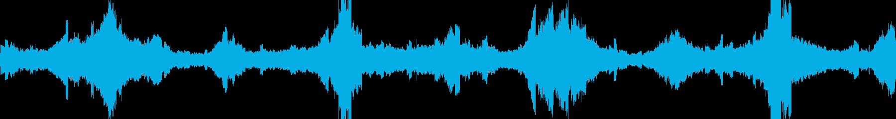 変調を伴うバイナリデジタル高ピッチ...の再生済みの波形