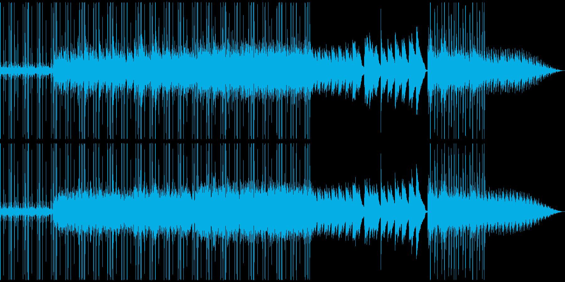 切なくも心地良いチル系リラックスBGMの再生済みの波形