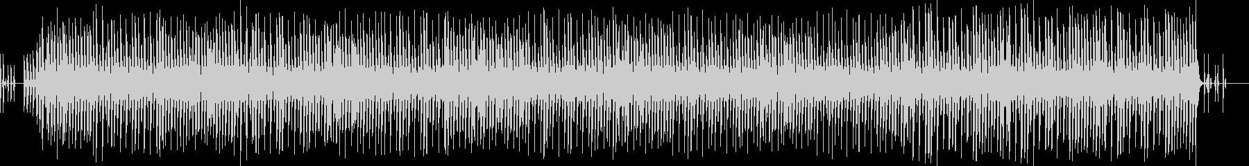 外国の童謡 『BINGO』ピアノ 犬の未再生の波形