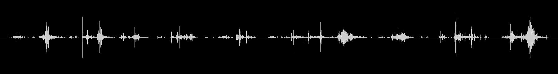 犬 ドリンク06の未再生の波形