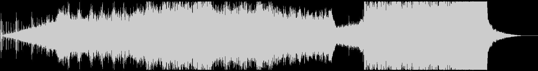 ピアノやクワイヤを使用した感動的な曲の未再生の波形
