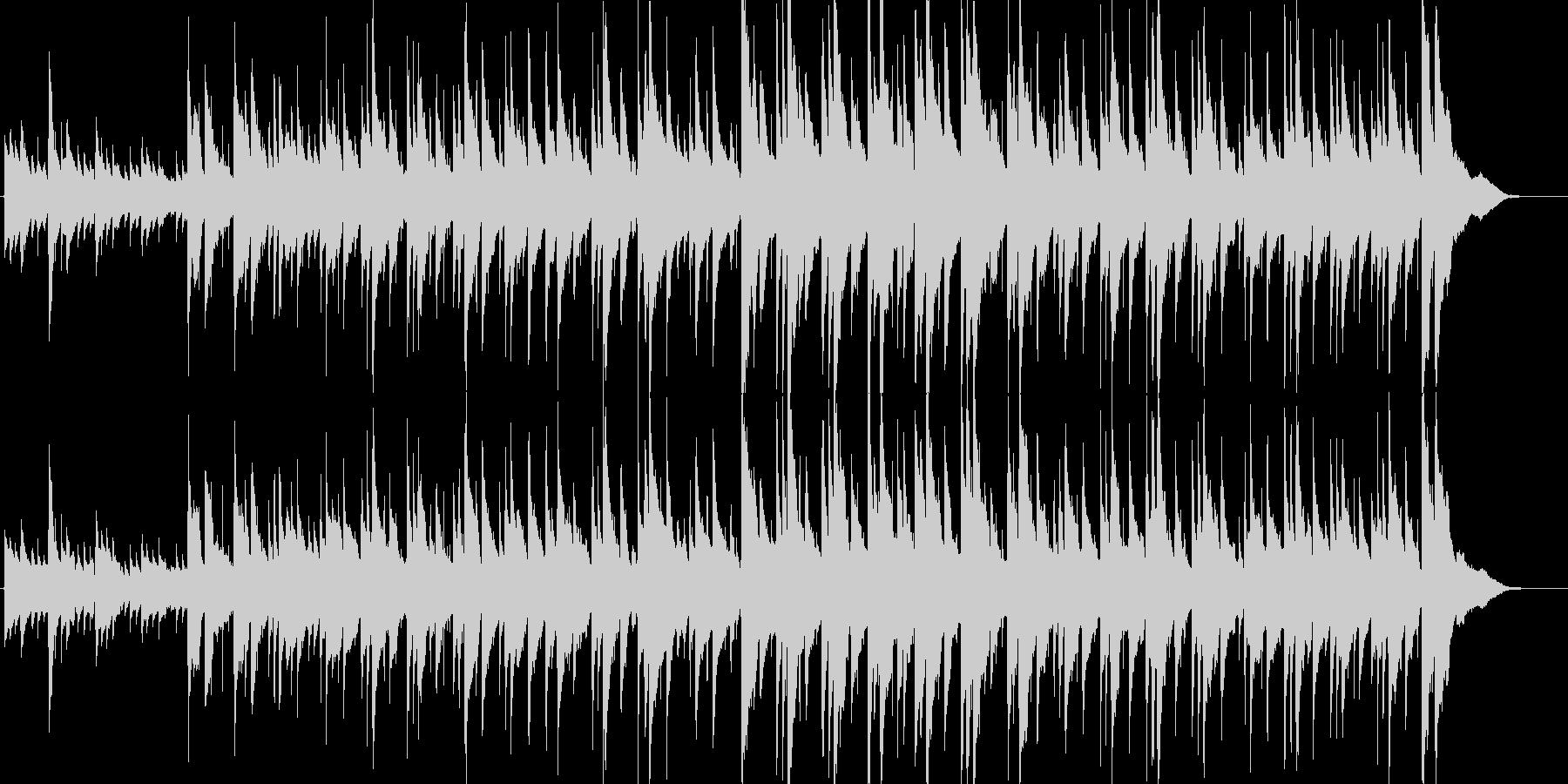 リラックスできるほのぼのまったりアコギ曲の未再生の波形