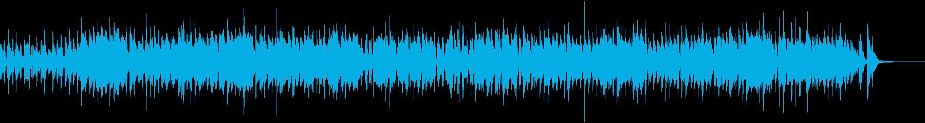 サックスが奏でる軽快なジャズ・ナンバーの再生済みの波形