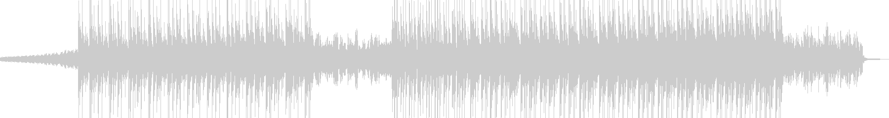 電脳・空想科学的なエレクトロポップ Aの未再生の波形