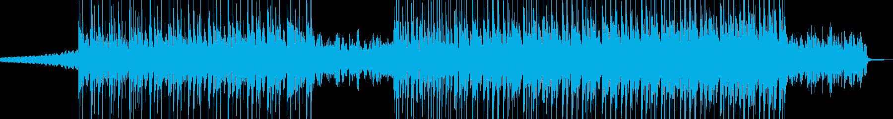 電脳・空想科学的なエレクトロポップ Aの再生済みの波形