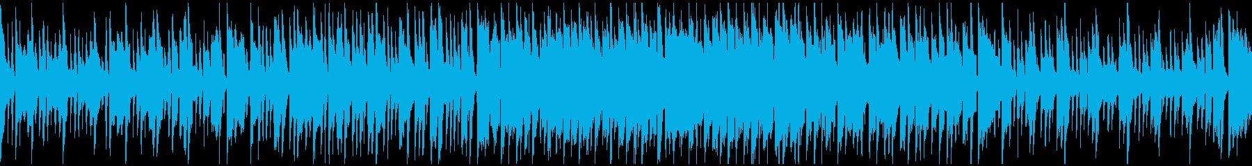 ゆるい休日、ほのぼのリコーダー※ループ版の再生済みの波形