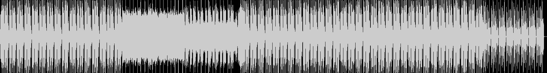 明るいポジティブなエレクトロBGMの未再生の波形