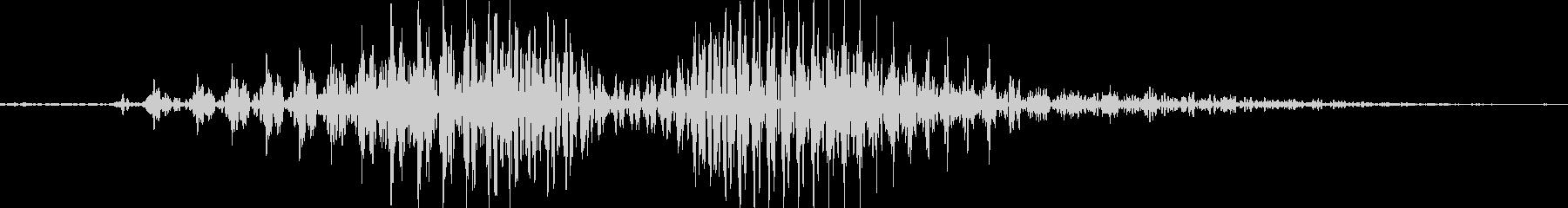 ほらっの未再生の波形
