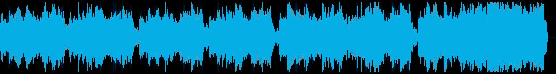 【ジングル】ロボっぽいダブステップの再生済みの波形