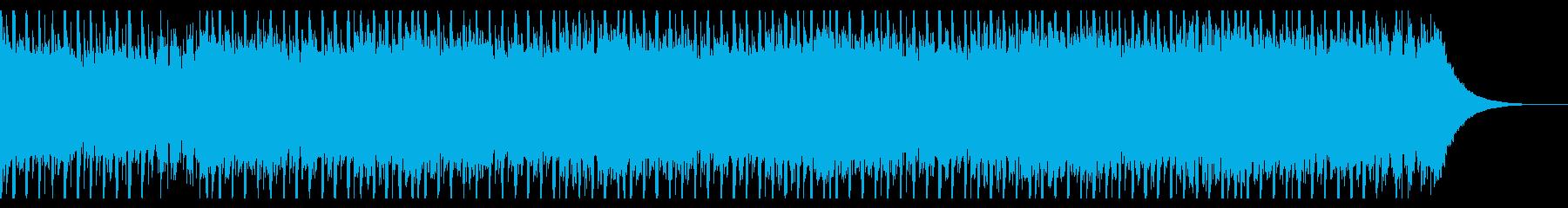建設ビル(60秒)の再生済みの波形