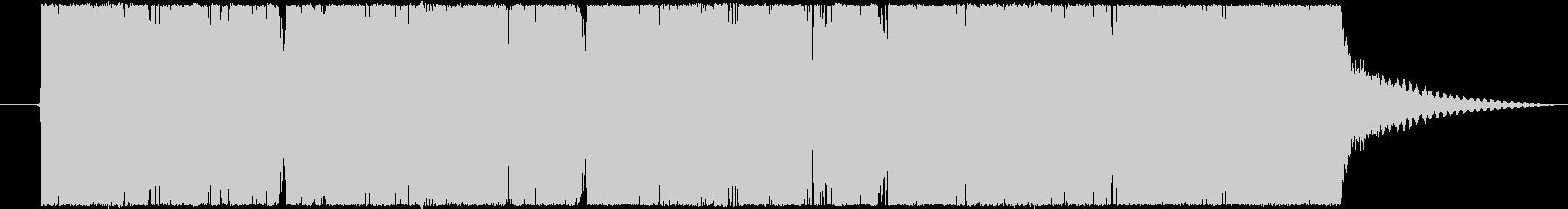 バンドサウンド感満載の洋楽テイストロックの未再生の波形