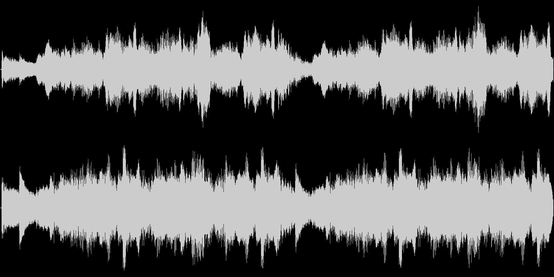 ダークファンタジーなストリングスとハープの未再生の波形